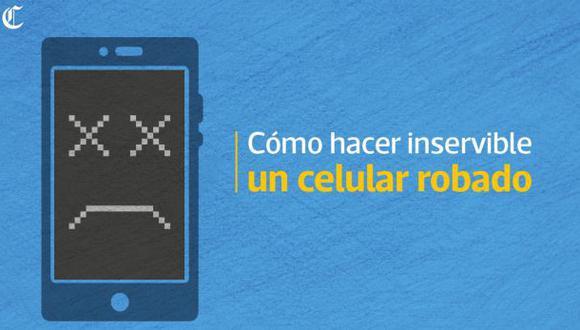 Cómo hacer que el celular que te robaron quede inservible