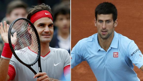 Federer y Djokovic avanzan sin problemas en Roland Garros