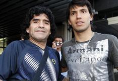"Sergio Agüero: ""Nunca te vamos a olvidar. Gracias, Diego"""