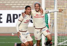 Universitario venció por 2-0 a Atlético Grau por la jornada 14 y sigue líder en la Liga 1