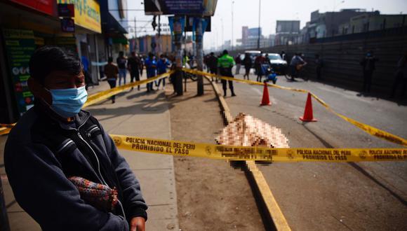 Freddy Rogger Calmarcanqui Coronel (35), fue asesinado de cinco balazos en Ste. (Foto: Hugo Curotto / @photo.gec)