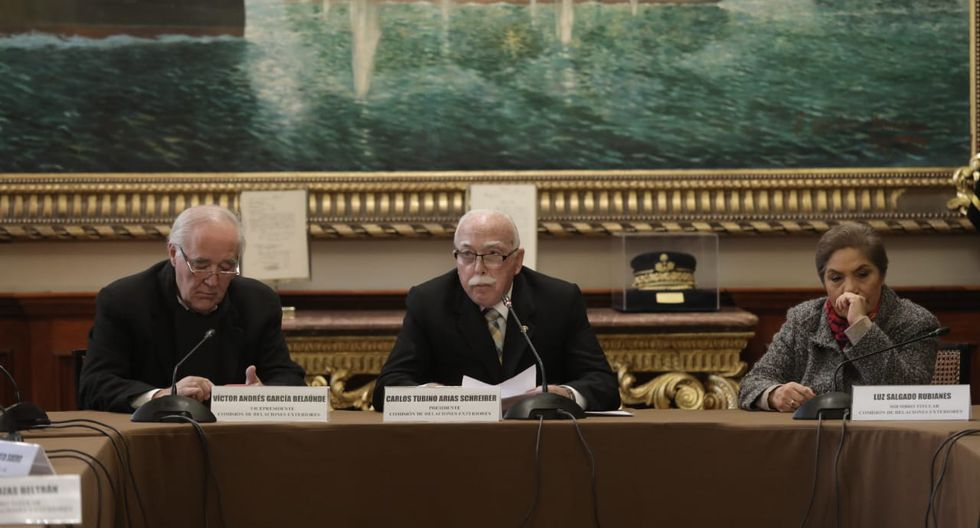 El congresista Carlos Tubino fue elegido para presidir la Comisión  de Relaciones Exteriores. (Foto: Anthony Niño De Guzmán / GEC)