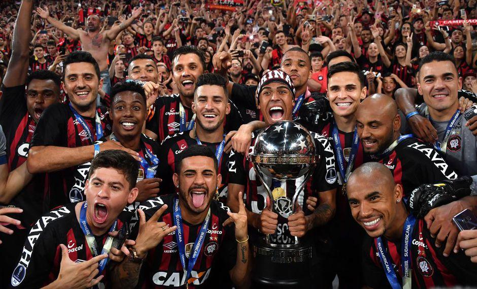 Atlético Paranaense campeón de la Copa Sudamericana 2018 VER VIDEO RESUMEN GOLES. (Foto: AFP)