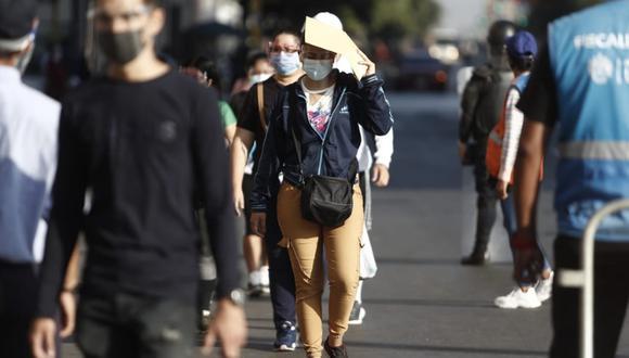 En Lima Oeste, la temperatura máxima llegaría a 23°C, mientras que la mínima sería de 17°C.  Foto: GEC
