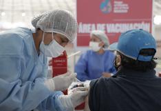COVID-19: más de seis millones de vacunas contra el coronavirus ya se aplicaron en el Perú