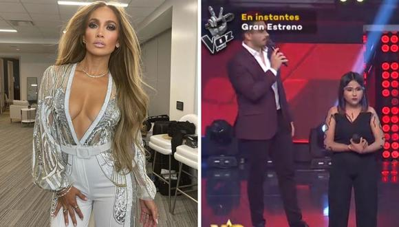 """Mientras que """"Yo Soy"""" llegó a su final, """"La Voz Perú"""" inicio con su fase de casting. (Foto: Captura Latina / Instagram @jlo)"""