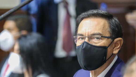Este viernes, el pleno del Congreso evalúa la inhabilitación de Martín Vizcarra (Foto: Andina)