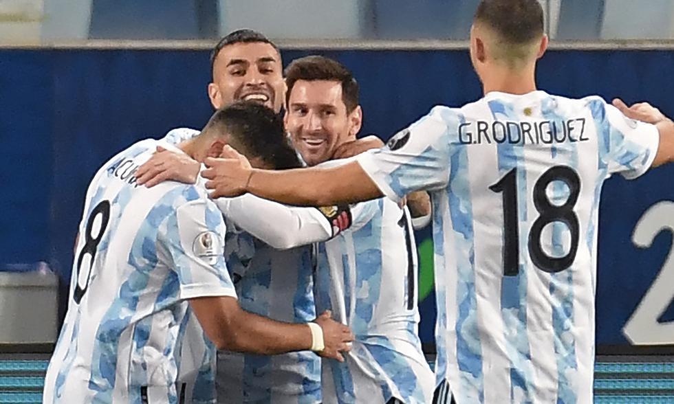 Argentina vs. Bolivia en vivo por Copa América 2021. Foto: EFE