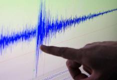 Moquegua: sismo de magnitud 4,8 remeció esta tarde la ciudad de Ilo