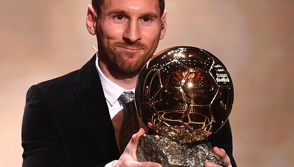 Lionel Messi ganó su primer Balón de Oro en el 2009. Debutó en el fútbol en el 2004. (Foto: AFP)