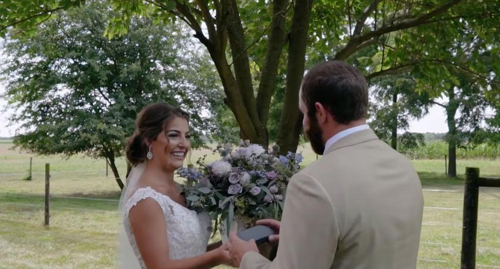 Ty pudo ver en color gracias a unas gafas especiales que le regaló su novia en el día de su matrimonio. (YouTube)