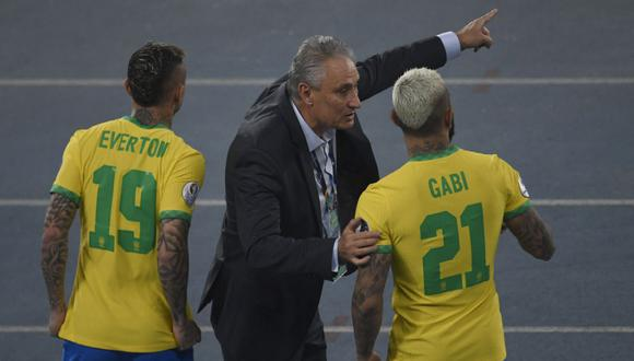 Brasil venció por 2-1 a Colombia por la Copa América. (Foto: AFP)