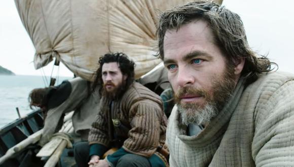 """Chris Pine en """"El rey proscrito"""", la película de Netflix. (Foto: Netflix)"""