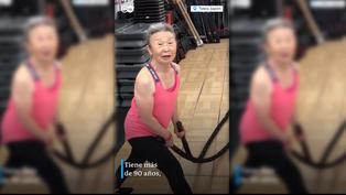 Japón: entrenadora de fitness de 90 años sorprende al mundo