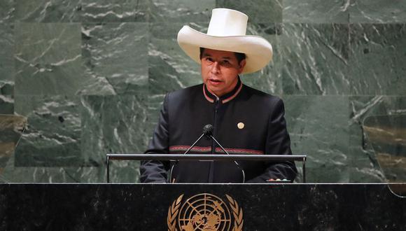 Presidente Pedro Castro expuso ante la Asamblea General de la ONU