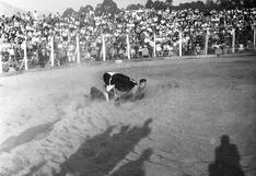 Jugando a ser vaqueros: cuando el rodeo se ganó los aplausos del público en el Perú