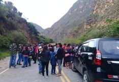 Amazonas: carretera a Chachapoyas se encuentra bloqueada por derrumbe