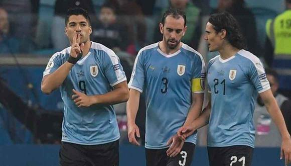 Luis Suárez y Edinson Cavani jugarán la fecha triple de octubre de Eliminatorias. (Foto: EFE)