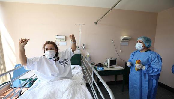 Más pacientes se recuperaron el COVID-19 en las últimas 24 horas. (Foto: Minsa)