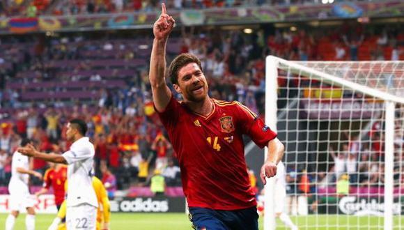 Xabi Alonso anunció su retiro de la selección española