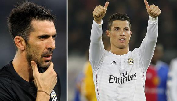 Balón de Oro: Buffon respalda a Cristiano Ronaldo y no a Neuer