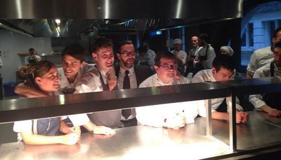 En Londres, Perú participó en cena de vanguardia