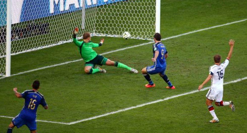 Higuaín anotó, pero fue anulado por posición adelantada - 1