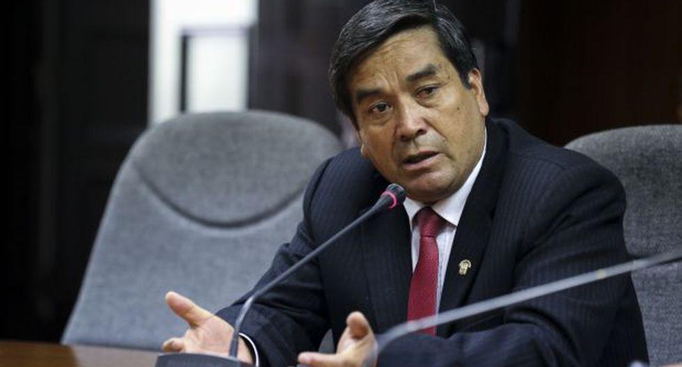 Benicio Ríos fue sentenciado a 7 años de cárcel en diciembre del 2017 y la pena fue ratificada en segunda instancia en mayo, tras lo cual estuvo no habido hasta el último lunes. (Foto: Congreso)