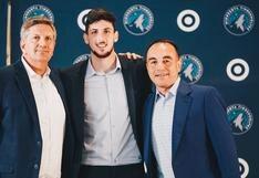 """Leandro Bolmaro a El Comercio: """"Aportaré con intensidad, eso es lo que me trajo a la NBA"""""""