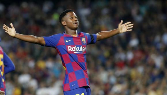 Ansu Fati podría convertirse en el menor de edad con más goles en LaLiga.