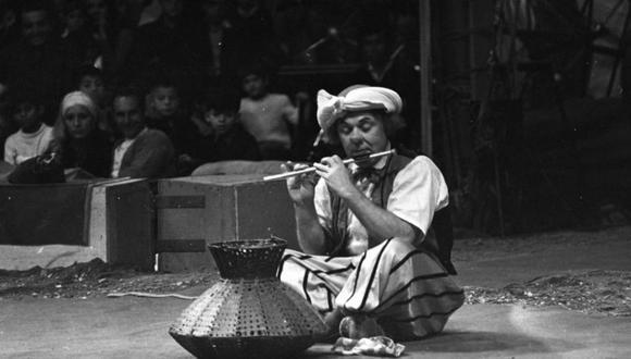 El Circo de Moscú llegó a Lima en las Fiestas Patrias de 1971 con el famoso payaso Oleg Popov en sus filas | Foto: Archivo Histórico El Comercio