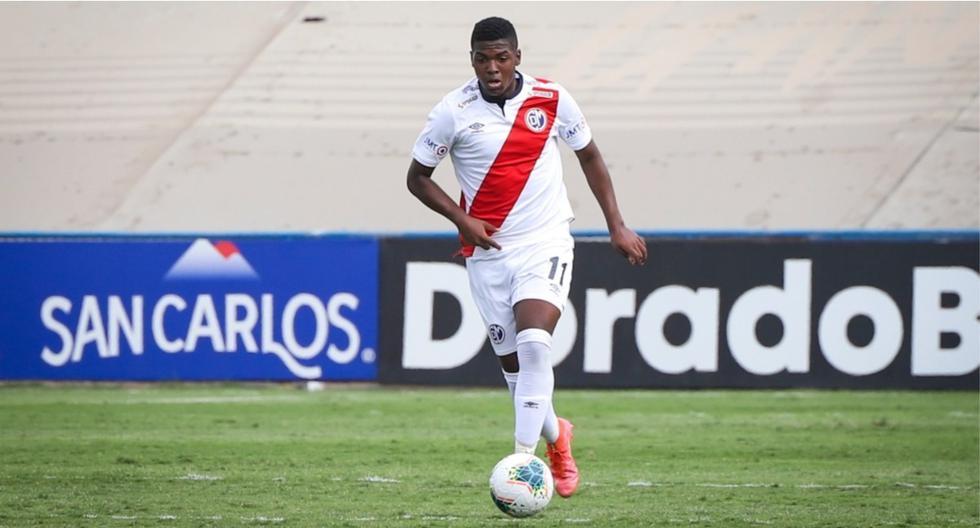 Jhonnier Montaño es el primer futbolista categoría 2004 en debutar en la Liga 1 2021. (Foto: Prensa Deportivo Municipal)
