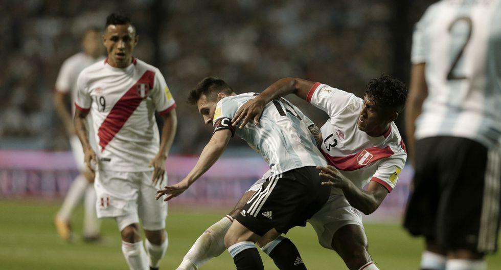 Perú vs. Argentina (Foto: Agencia)