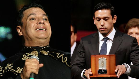 Juan Gabriel heredó toda su fortuna a su hijo, Iván Aguilera. (Fotos: Agencias)