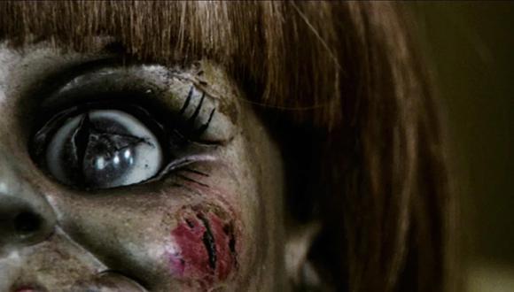 """""""Annabelle"""", la muñeca más terrorífica del cine, ha vuelto a generar noticia por una noticia falsa. Foto: Warner Bros."""