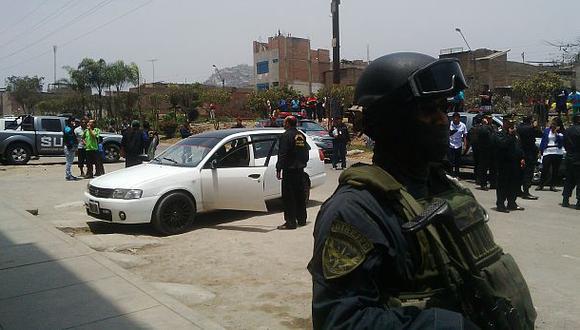 Tres delincuentes muertos dejó asalto frustrado en Ate Vitarte