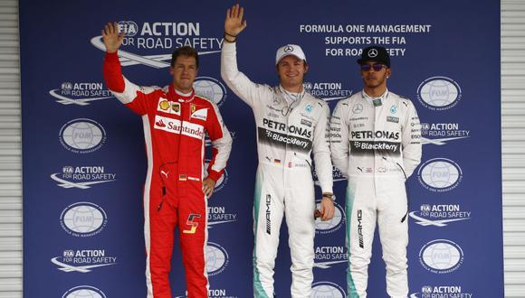 Esta es la quinta pole de la temporada para Rosberg. (Foto: DPPI)