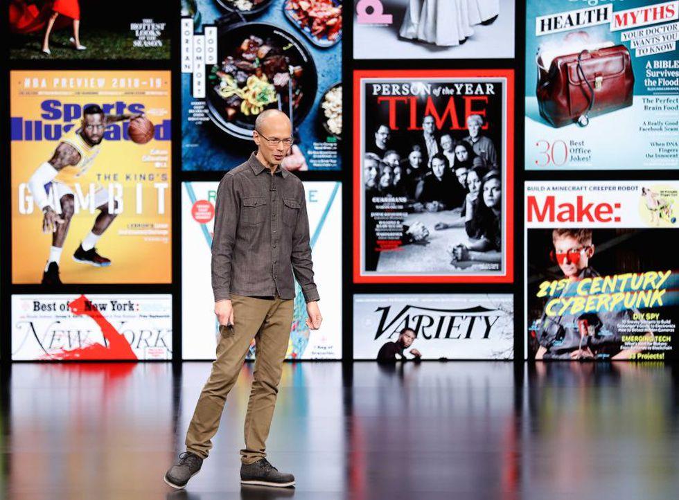 Apple News + es un portal dedicado a las noticias y revistas. (Foto: Bloomberg)