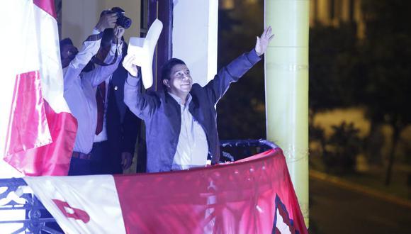 La elección de Pedro Castillo –de confirmarse– tiene pendiente despejar los temores que despertaba a lo largo de la campaña, tanto en el frente económico como en el institucional. (Foto: Jorge Cerdán/ GEC)