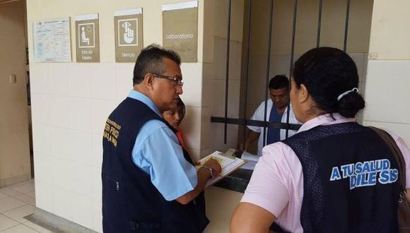 Piura: fiscal descubre cobros indebidos en centro de salud