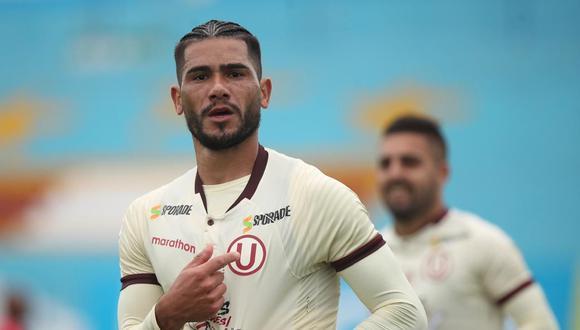 Dos Santos se operó a finales de Julio por una lesión en la rodilla. (Foto: Liga 1)