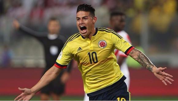 El crack de la selección de Colombia, James Rodríguez, entre los volantes más letales del siglo XXI. (Foto: AFP)