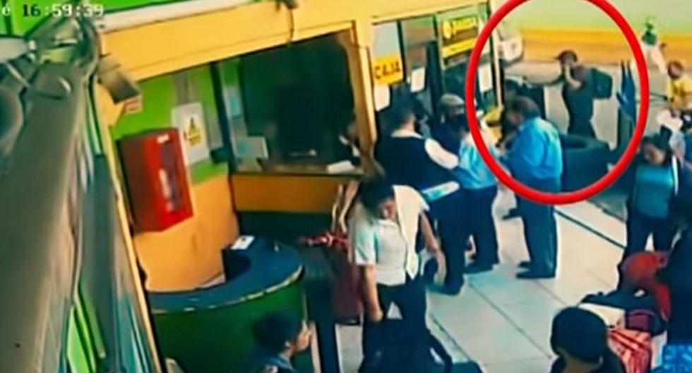 Según la Policía, lo sujetos tienen varios antecedentes. (Foto: Captura/Buenos Días Perú)