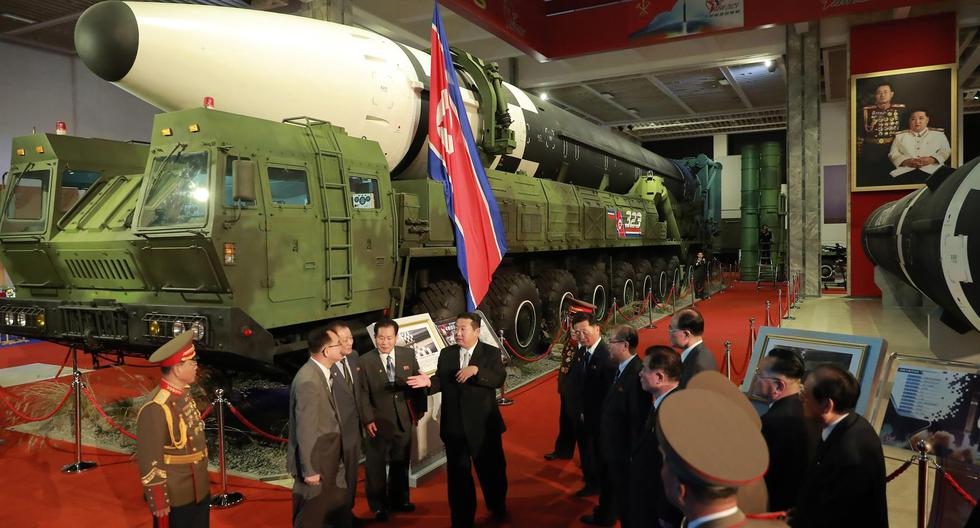 North Korea shows off its most advanced missiles, including the powerful Hwasong-8 hypersonic projectile