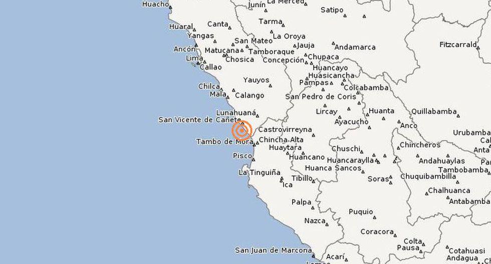 El último fin de semana se reportaron otros tres sismos en el departamento de Lima, según reportó el IGP. (Difusión)
