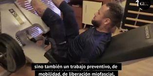 La rutina de ejercicios de Neymar para hacer en casa