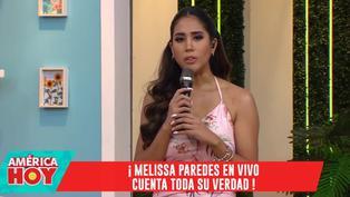 """Melissa Paredes explica su asombro por reacción de Rodrigo Cuba: """"No me lo esperé de esta manera"""""""