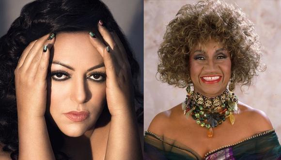 La India le rendirá tributo a Celia Cruz en concierto virtual. (Foto: @yosoylaindia/@celiacruz)