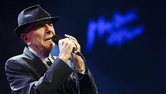 Leonard Cohen lanzará un nuevo disco en setiembre