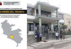 Elecciones 2018: conozca a los candidatos y sus propuestas para Villa María del Triunfo